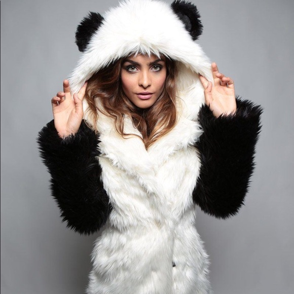 6b64d8c79e87 SpiritHoods Jackets & Coats | Spirithood Panda Faux Fur Coat | Poshmark